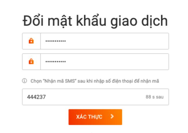 san-t-rex-exchange-la-gi-huong-dan-cai-dat-mat-khau-giao-dich