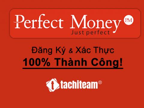 đăng ký perfect money 100% thành công
