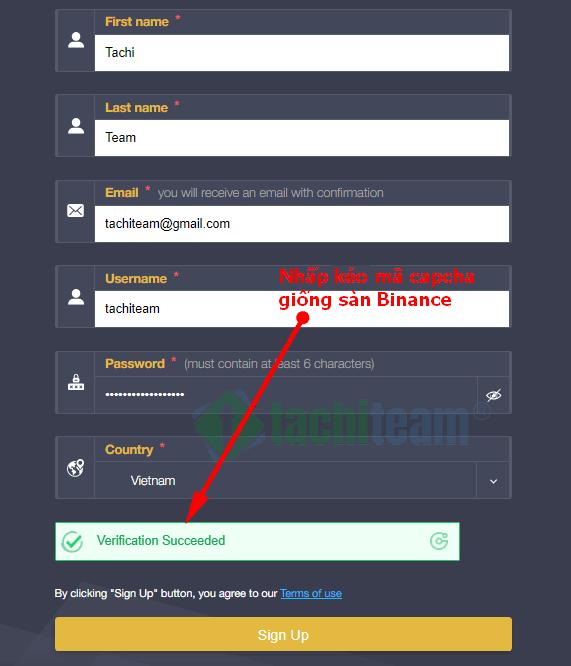 ArBinance-sign-up