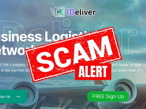 ideliver-scam