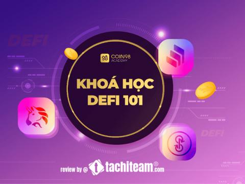 đánh giá khóa học defi 101 coin98
