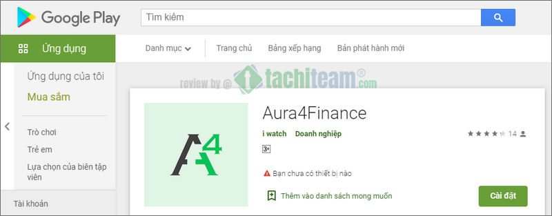 Aura4Finance on Google Play