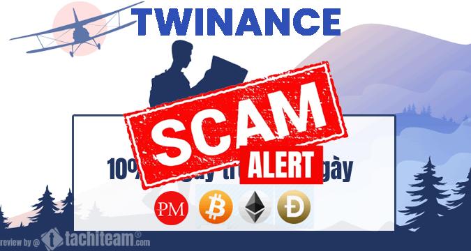 Twinance scam