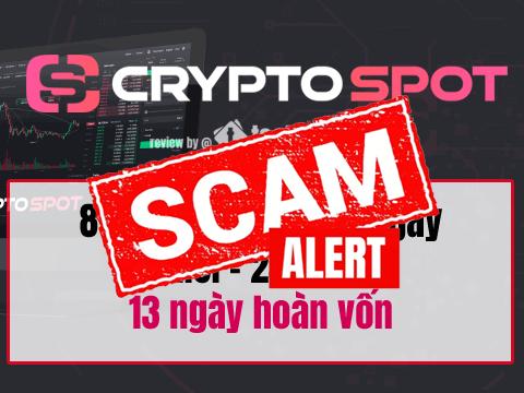 CryptoSpot scam