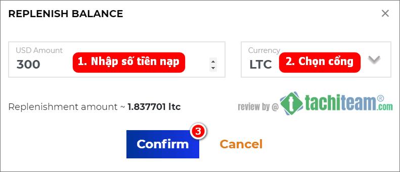 Crypital Finance REPLENISH