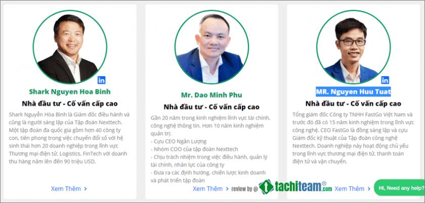 Nhà đầu tư - Cố vấn cấp cao của VNDT