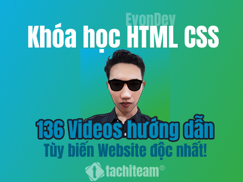 Đánh giá chi tiết khóa học html css của evondev
