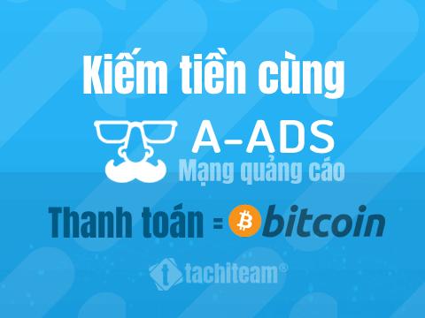 kiếm tiền với a-ads network